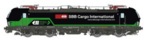 L.S. Models H0 Vectron SBB Cargo International Ep VI AC Sound