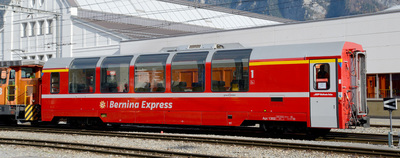 "Bemo H0m RhB Bp 2502 Panoramawagen ""Bernina-Express"""