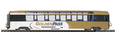 "Bemo H0 MOB Bs 251 ""GoldenPass Panoramic"" 2L-GS"