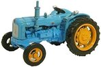 Oxford Diecast Fordson Tractor Blue