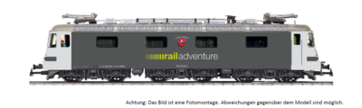 HAG H0 Re 620 003-4 railadventure DC digital Sound